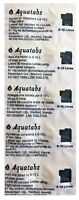 AQUATABS 67mg Strip of 10 Tablets - for 8-10 Liter of Water Purification Camping