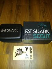 Fat Shark Scout FPV Goggles racing drone quadcopter, with battery Fatshark