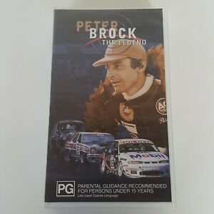 PETER BROCK THE LEGEND VHS 1997 Pal Holden Motorsports Bathurst