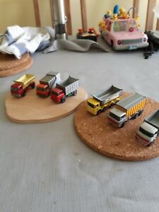 Matchbox 1-75 series job lot x6, Lorries - Ford, Mercedes,  Daf, Leyland