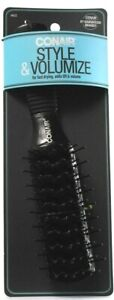 1 Ct Conair Style & Volumize Fast Drying Adds Lift9-Row Large Tunnel Vent Brush