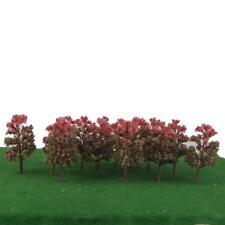 20 verde fucsia del árbol del modelo Escala N Disposición Parque Jardín