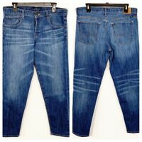 Lucky Brand Women's Dylan Boyfriend Button-Fly Blue Denim Jeans Size 6/28