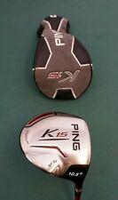 Ping K15 10.5 Degree Driver Ping Stiff Graphite Shaft Ping Grip