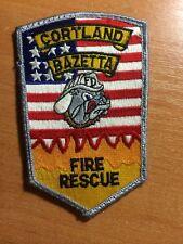 PATCH CORTLAND BAZETTA FIRE RESCUE - OHIO STATE
