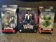 Hasbro Marvel Legends Lot - Venom Doc Ock & Spider-Woman