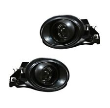 Reliable Autoparts RSD-300302B for 01-06 BMW E46 M3 Black Front Fog Lamp Set