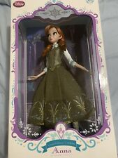 New In Box Disney Store Limited Edition Anna Doll - Frozen - 17'' Frozen Fever