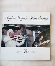 Stephane Grappelli, Jazz Legend Violin, Live 1979 HIGH ENERGY! w/David Grisman