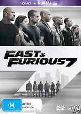 Fast And Furious 7 : NEW DVD