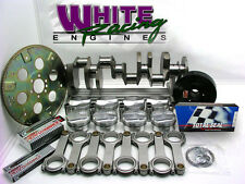 """BBC CHEVY 496 ROTATING ASSY. FORGED DIAMOND PISTONS, """"H"""" BEAM RODS 2 PC, 30 OVER"""