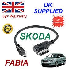 Skoda Fabia MMI 000051446A MP3 SAMSUNG HTC MINI Reemplazo De Cable Usb