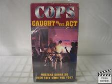 COPS - Caught In The Act VHS Brand New