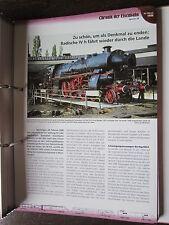 Chronik der Eisenbahn 5B: 1996 zu Schön als Denkmal badische IVh fährt wieder
