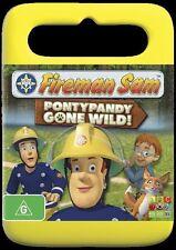 Fireman Sam - Pontypandy Gone Wild (DVD, 2013) Region 4 in VGC with FREE POSTAGE