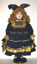"Camelot ""Celeste"" Sun, Moon and Stars Porcelain Doll - Limited Edition"