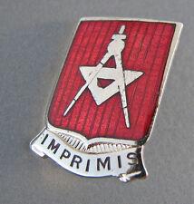 30th Engineer Battalion clutch back pin POLK NYC P21 hallmark