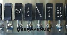 Chalkboard stone looking kegerator beer tap handle - NEW  chalk board