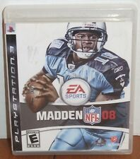 Playstation 3 EA Sports Madden 08 Game, Manual & Case