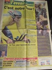 VELO : TOUR DE FRANCE : C'EST NOTRE TOUR ! - 03/07/2004 -