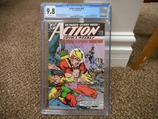 Action Comics 632 cgc 9.8 DC 1988 Weekly Speedy Superman Nightwing MINT WHITE pg