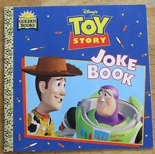 Toy Story Joke Book by Barbara Bazaldua (1996, Paperback)