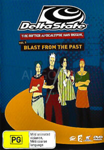 BLAST FROM THE PAST -DVD Animated Series Rare Aus Stock New Region 4