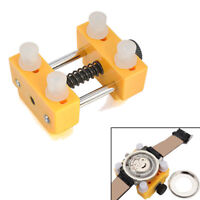 Adjustable Watch Back Case Cover Opener Remover Wrench / Holder Repair Kit Tool