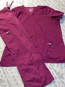 Cherokee Workwear revolution scrub set sz 2xl petite