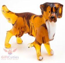 Art Blown Glass Figurine of the Nova Scotia Duck Tolling Retriever dog