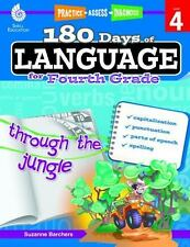 180 Days: 180 Days of Language for Fourth Grade by Suzanne Barchers (2014,...