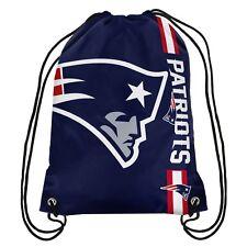 New England Patriots NFL Side Stripe Drawstring Back Pack FREE SHIP!!