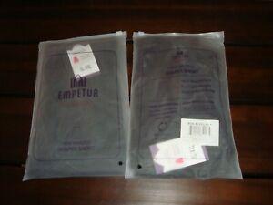 Lot of 2 Empetua  High Waisted Body Shaper Shorts - Black XL/XXL