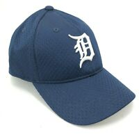 Detroit Tigers Outdoor Cap Youth Size Adjustable Hat Mesh Blue White D Logo