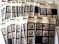 "Lot of 21 Janlynn America the Beautiful NEW Needlepoint Kits Size 10"" x 10"""