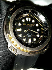 💎OROLOGIO WATCH BARRACUDA BULOVA DATARIO VINTAGE SCUBA SUB NO CITIZEN AQUALAND