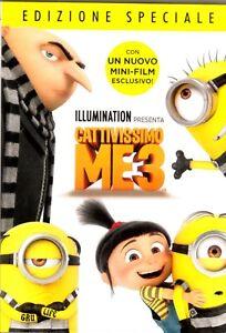 CATTIVISSIMO ME 3 con i MINIONS DVD