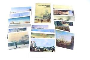 Townscapes By Russian Painters Box Set Of 16 8x6 Artist Collector Post Cards