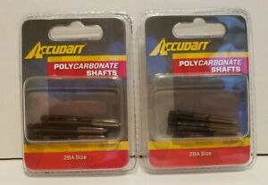 Lot of 2--Polycarbonate Shafts (3 /pack) For Darts SIZE 2BA G1