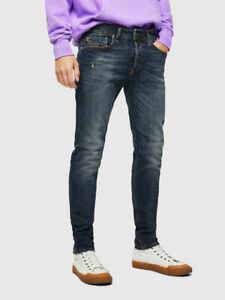 Diesel Sleenker 069GC X W36 L30 Pantaloni Slim Fit Stretch