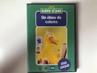 BARRIO SESAMO DVD UN RITMO DE COLORES
