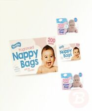Nappy bags Jumbo Box - 4 x 200 pack (800 in total)