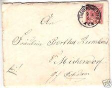 Bedarfsbrief mit Inhalt, DR, Mi.-Nr. 47 EF, o Treuenbrietzen, 9.4.93