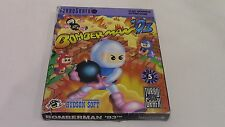 Bomberman '93 TurboGrafx-16 TG16 Game Complete in Box CIB Tested