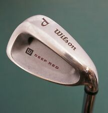 Wilson Deep Red Pitching Wedge Regular Steel Shaft Wilson Grip
