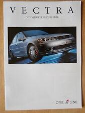 IRMSCHER OPEL VECTRA 1999 German Mkt Sales Brochure Prospekt - Vauxhall related