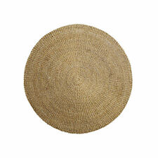 Bloomingville Rug Sea Grass Natural 120 cm round Indoor Outdoor Scandanavia Deco