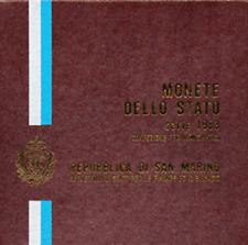 Divisionale Lira San Marino 1983 MINACCIA ATOMICA
