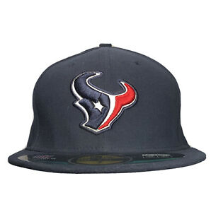 Houston Texans 59FIFTY New Era Mens Size 7 Fitted NFL Official On-Field Hat Cap