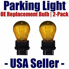 Parking Light Bulb 2-pack OE Replacement Fits Listed Buick Vehicles - 5702NAK
